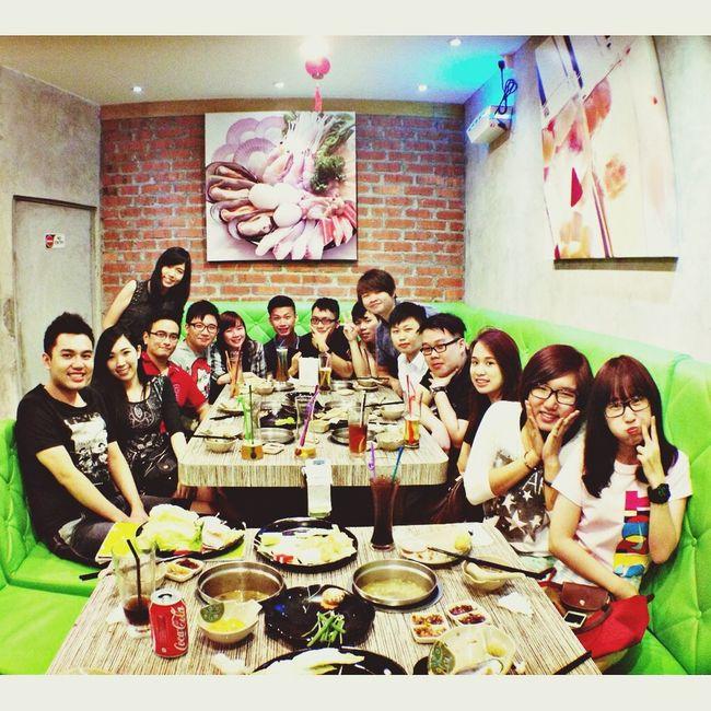BFF pre CNY gathering dinner