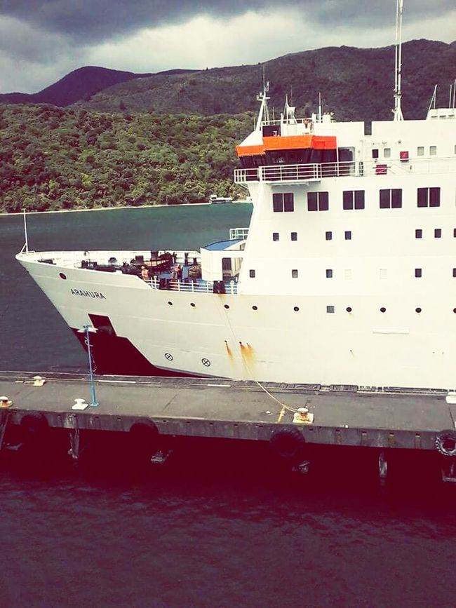 Interislander North Meets South Cook Strait, New Zealand Ferryboat New Zealand Scenery New Zealand Natural Beauty In Nature Beauty In Ordinary Things Beauty In Everything Enjoying Life