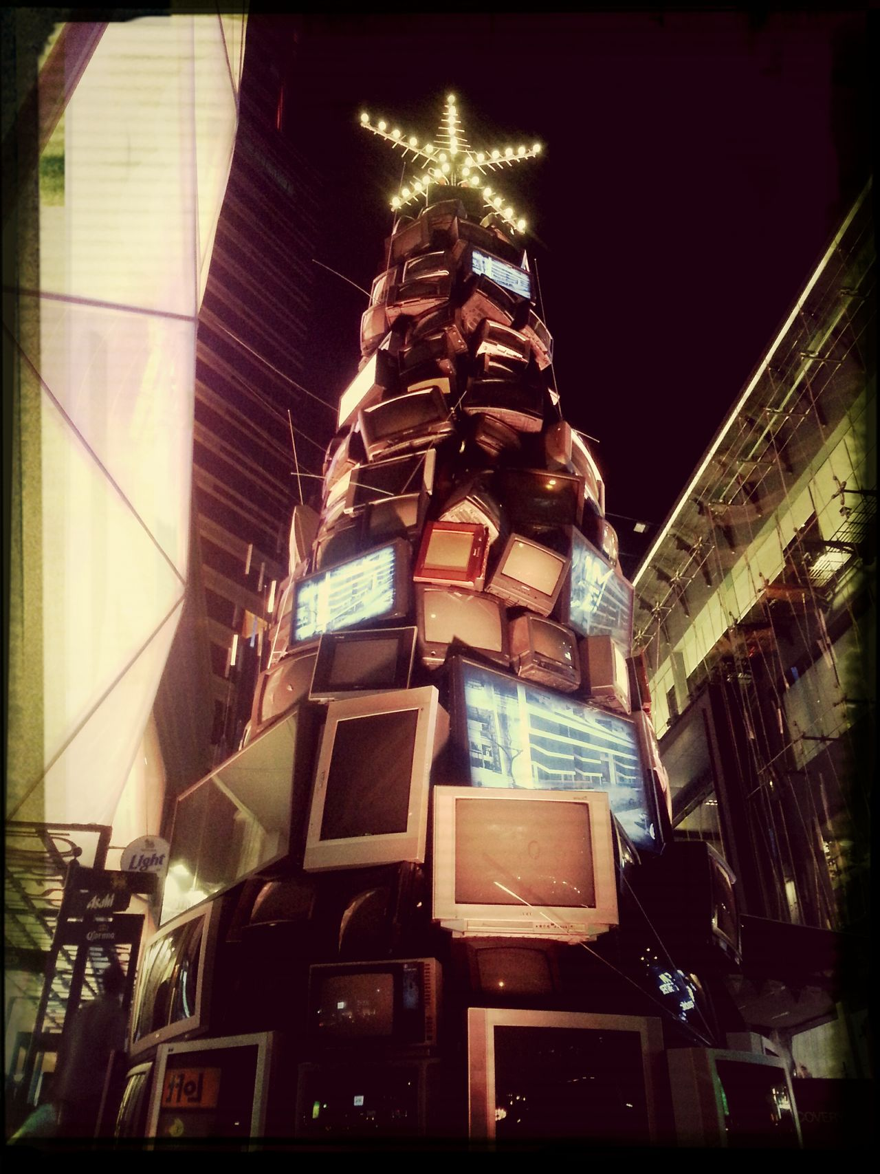 Christmas Tree let's be creative this Christmas Oldtv Faketree Creativethailand