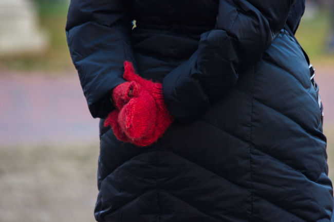 The Red Mittens... Showcase: January Casual Clothing Color Portrait Fashion Hands It's Cold Outside Lifestyles Mittens People People Photography People Watching Peoplephotography Portrait Portrait Of A Woman Portraits Real People Red Red Mittens Relaxation Standing Street Fashion Street Photography Streetphoto_color Streetphotography Warm Clothing