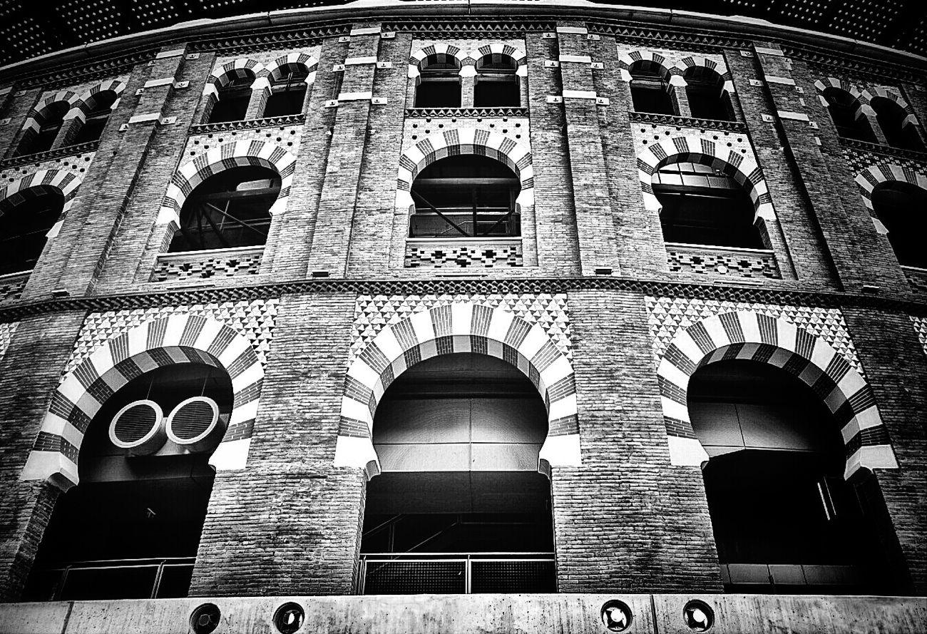 Monochrome Blackandwhite Architecture Mi Serie Barcelona