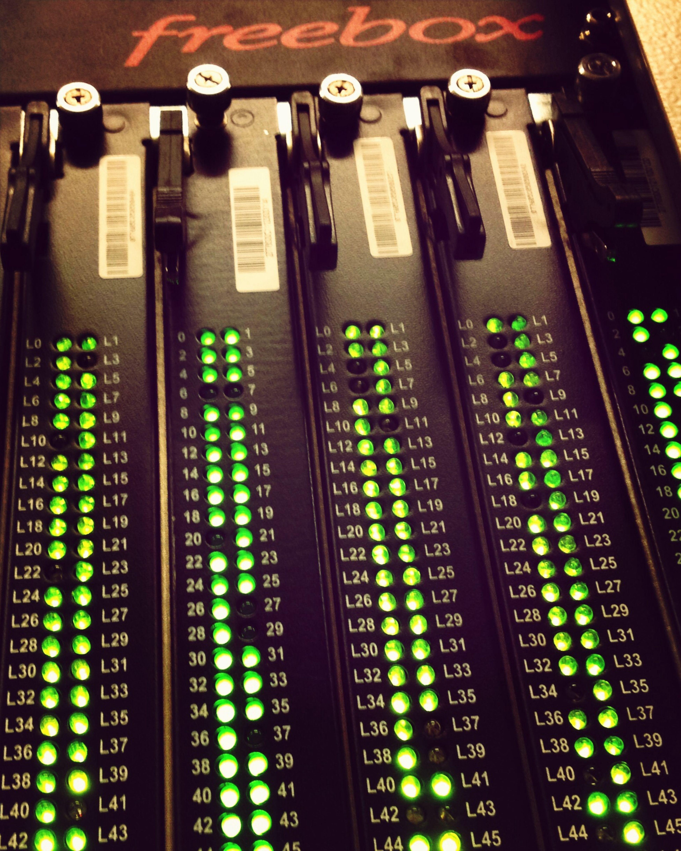Freebox Internet DSL Dslam
