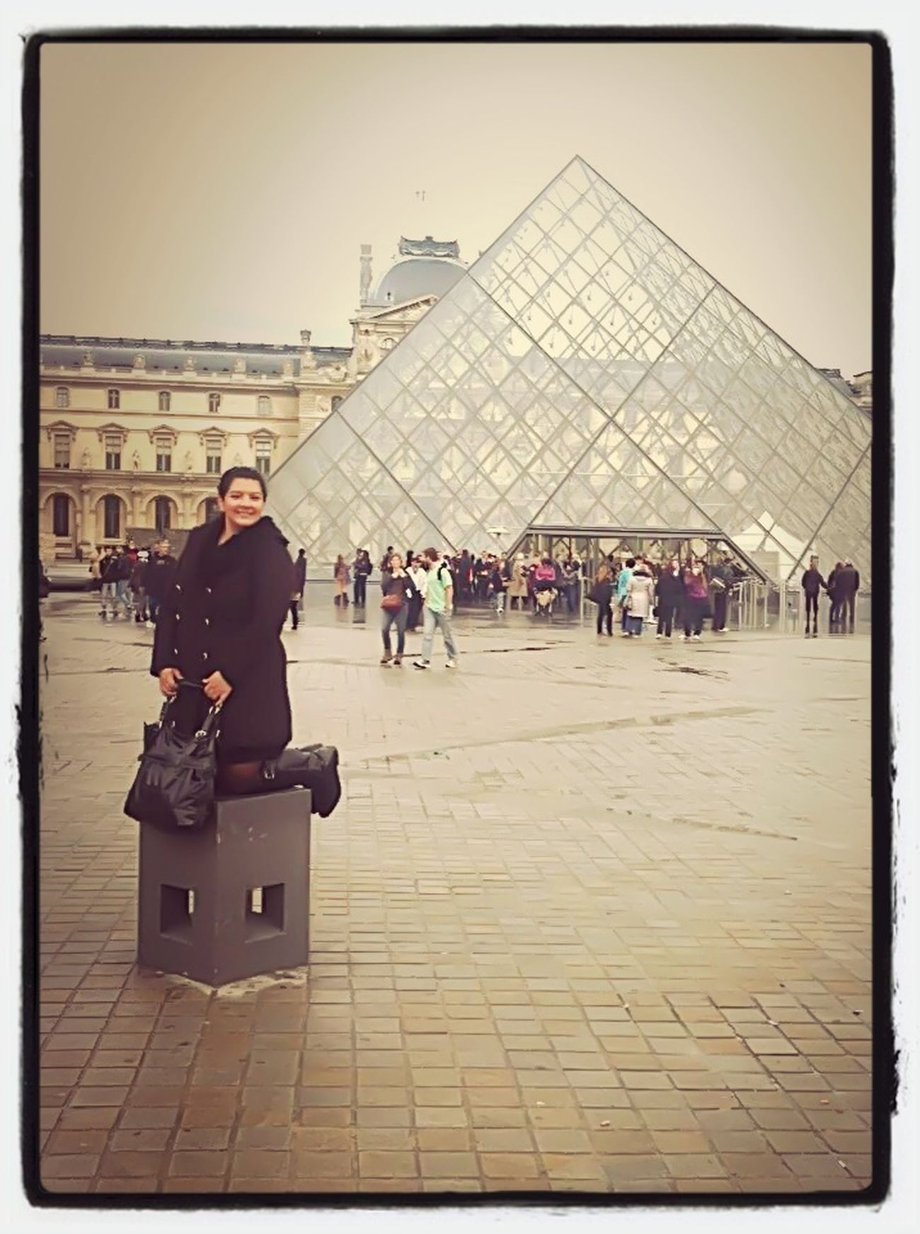 In Paris at the Lourve. #paris