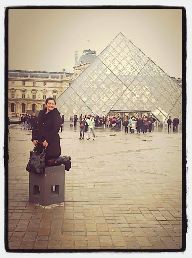 In Paris at the Lourve. #paris