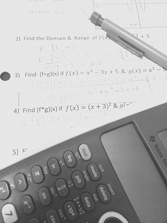 Finalsweek Mathematics Sometimesyouneednumbers Pencil Paper