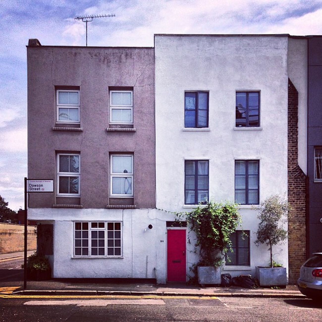Square Hoxton House Terracedhousing london eastend uk