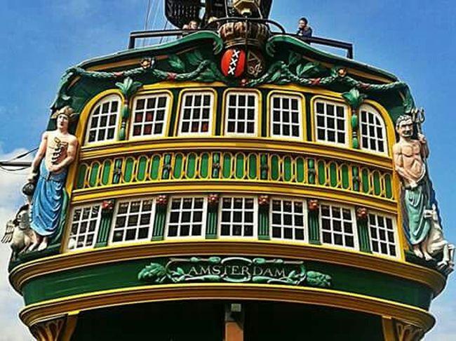 AMSTERDAM Ship Pirate Ship Start A Trip Amsterdam