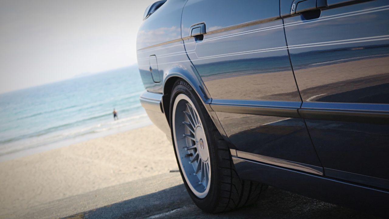 Alpina B10 Bi-Turbo Beach Drive in Izu Bmw E34