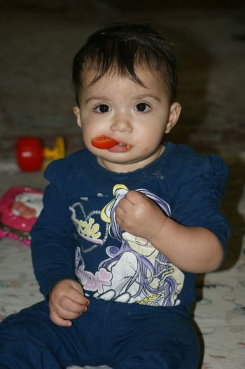 ساتیا گوجه دوست داره