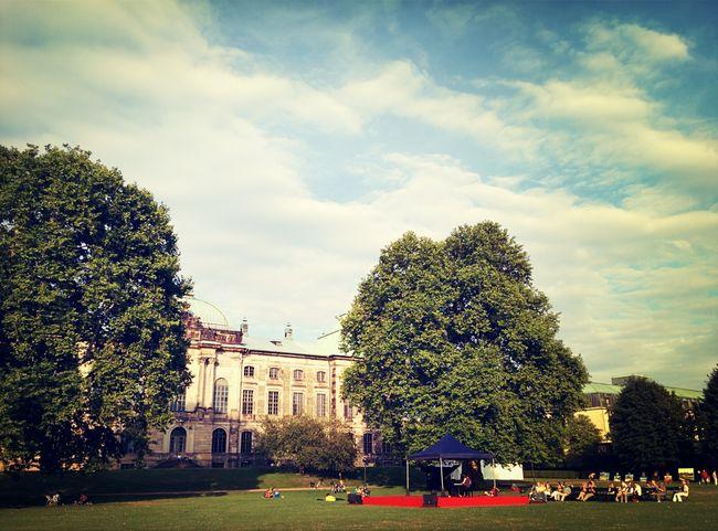 So beginnt es... Palaissommer Dresden