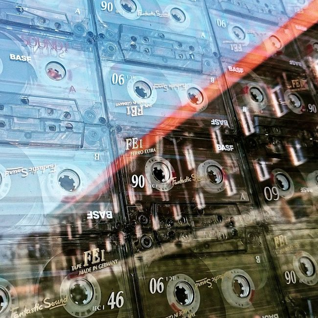 Backgrounds Choice Close-up Collection Detail Full Frame Kassette Large Group Of Objects Music Musictape Musictapes No People Part Of Reflection Selective Focus Showcase May Spiegelung Still Life Tape Variation Volkenroda Art Architecture Architecture_collection Architectural Detail