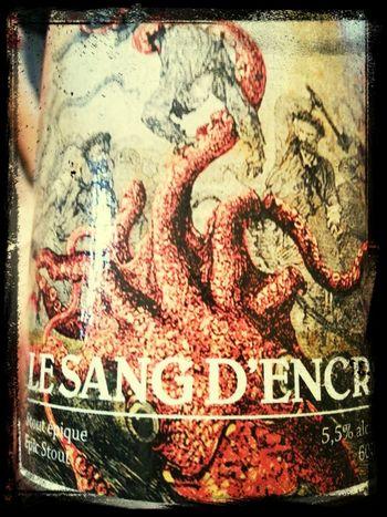 Pour un boost d'epicness! Why not notre 11e bière, la sang d'encre du Trou du Diable! DégustationCéréRobertson2013