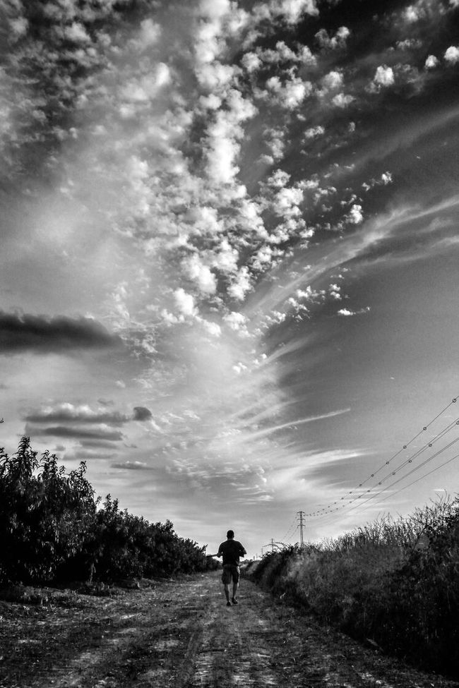 The hunter Fortheloveofblackandwhite Black And White Bnw Clouds And Sky