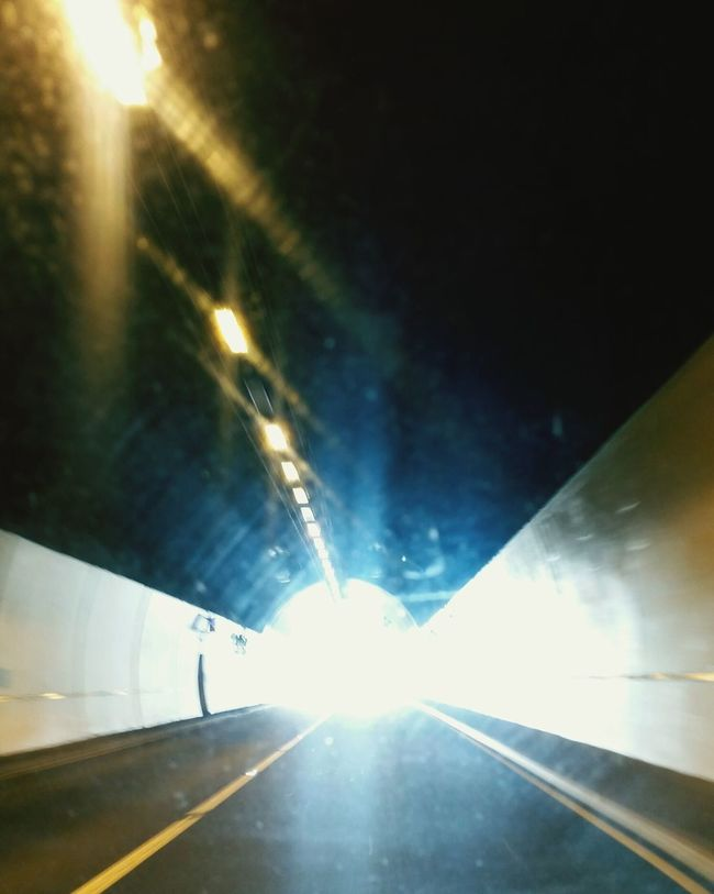 Transportation Mode Of Transport Travel Illuminated The Way Forward Sunbeam Lens Flare Light At The End Of Tunnel Journey Car Point Of View Tunnel Bright EyeEm Best Shots EyeEm Gallery Eyem Best Shots Catching A Moment On Camera Traveling Tunnel View