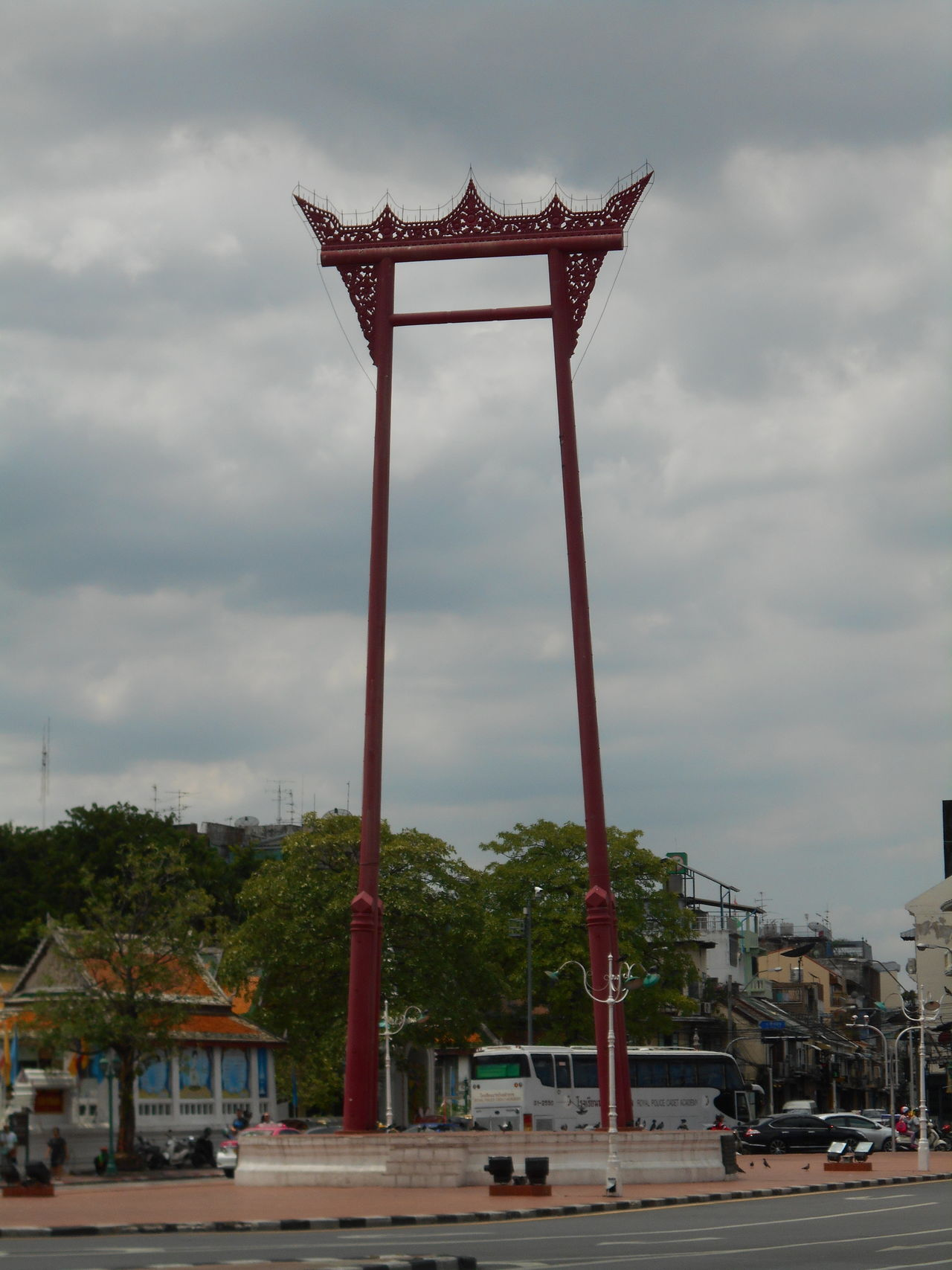 Architecture City Cloud - Sky Day No People Outdoors Sky The Giant Swing Tree