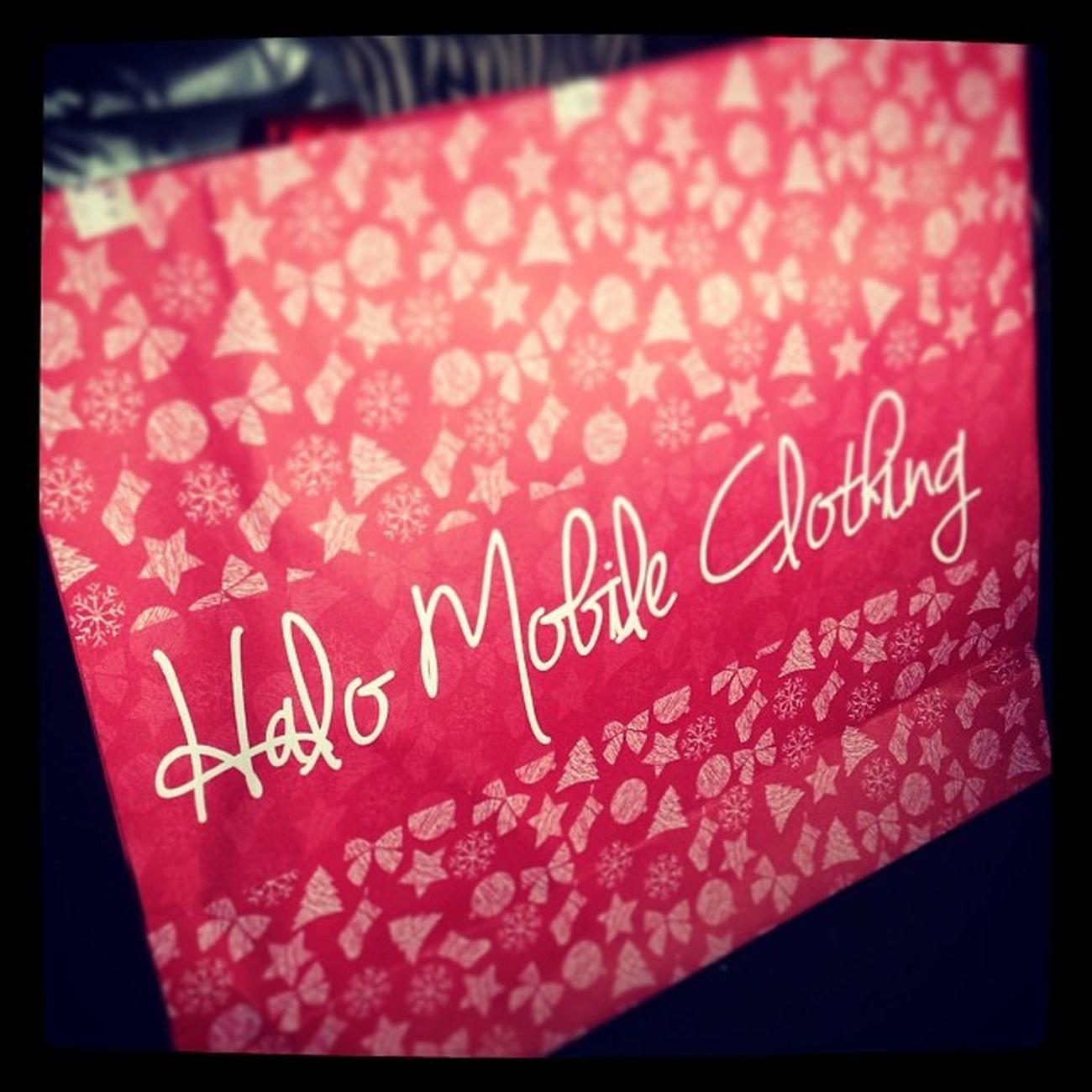 Im sure excited na yung bibigyan ko neto mamaya pag nakita niya toh mehehee ! Halomobileclothing Gift