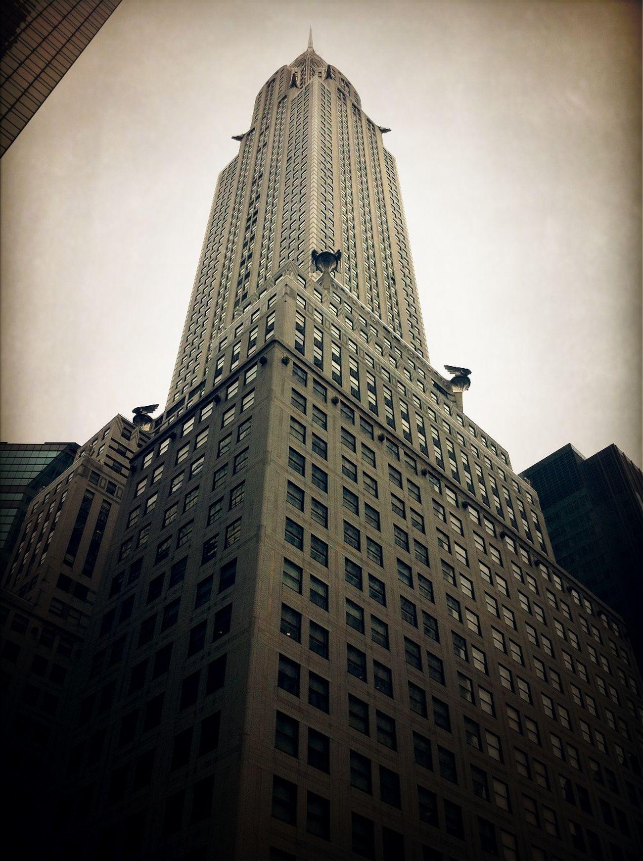 at Chrysler Building - MSKC