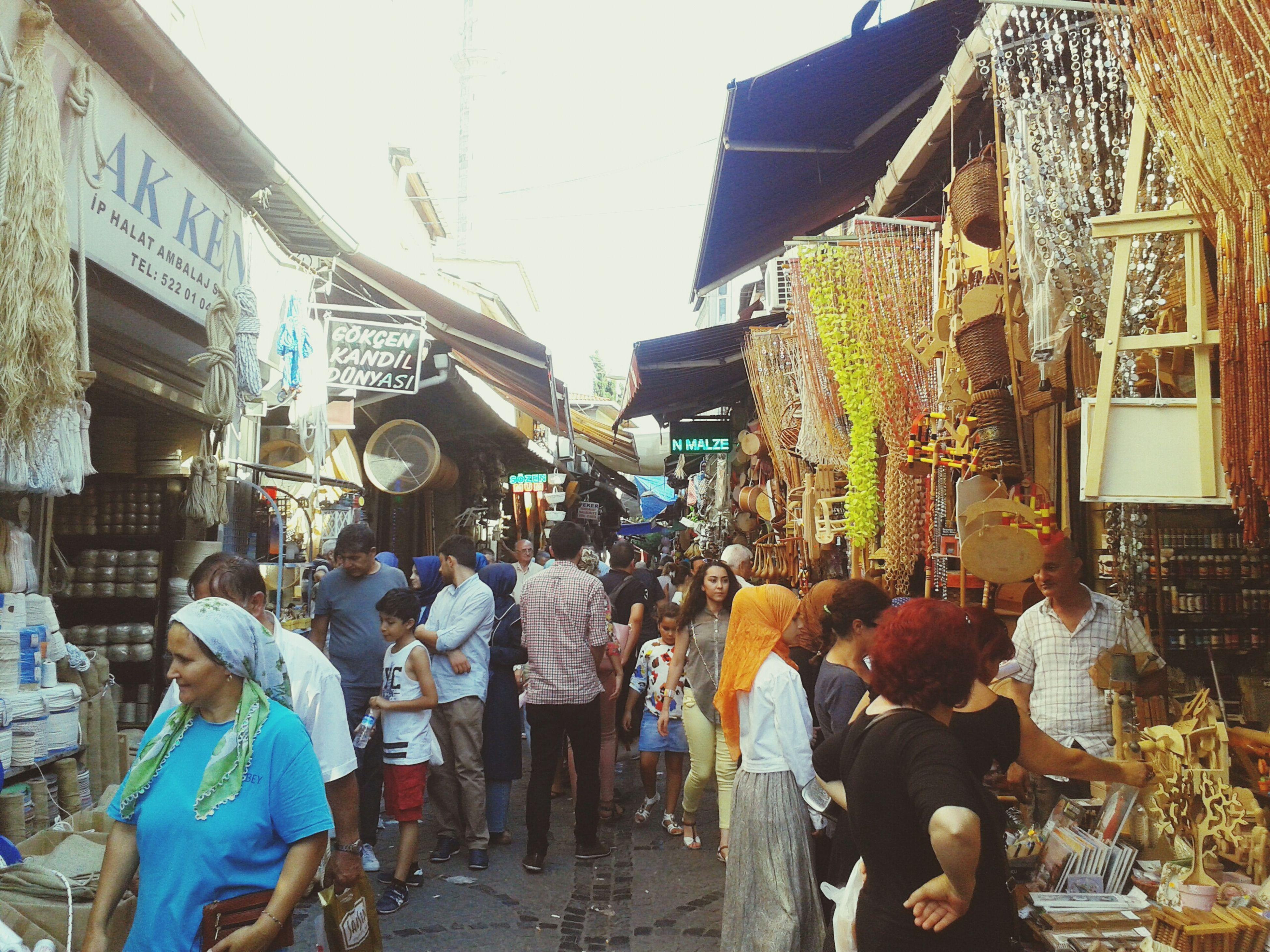 ıstanbul, Turkey Eminönü Tahtakale seviyorum lan burayi