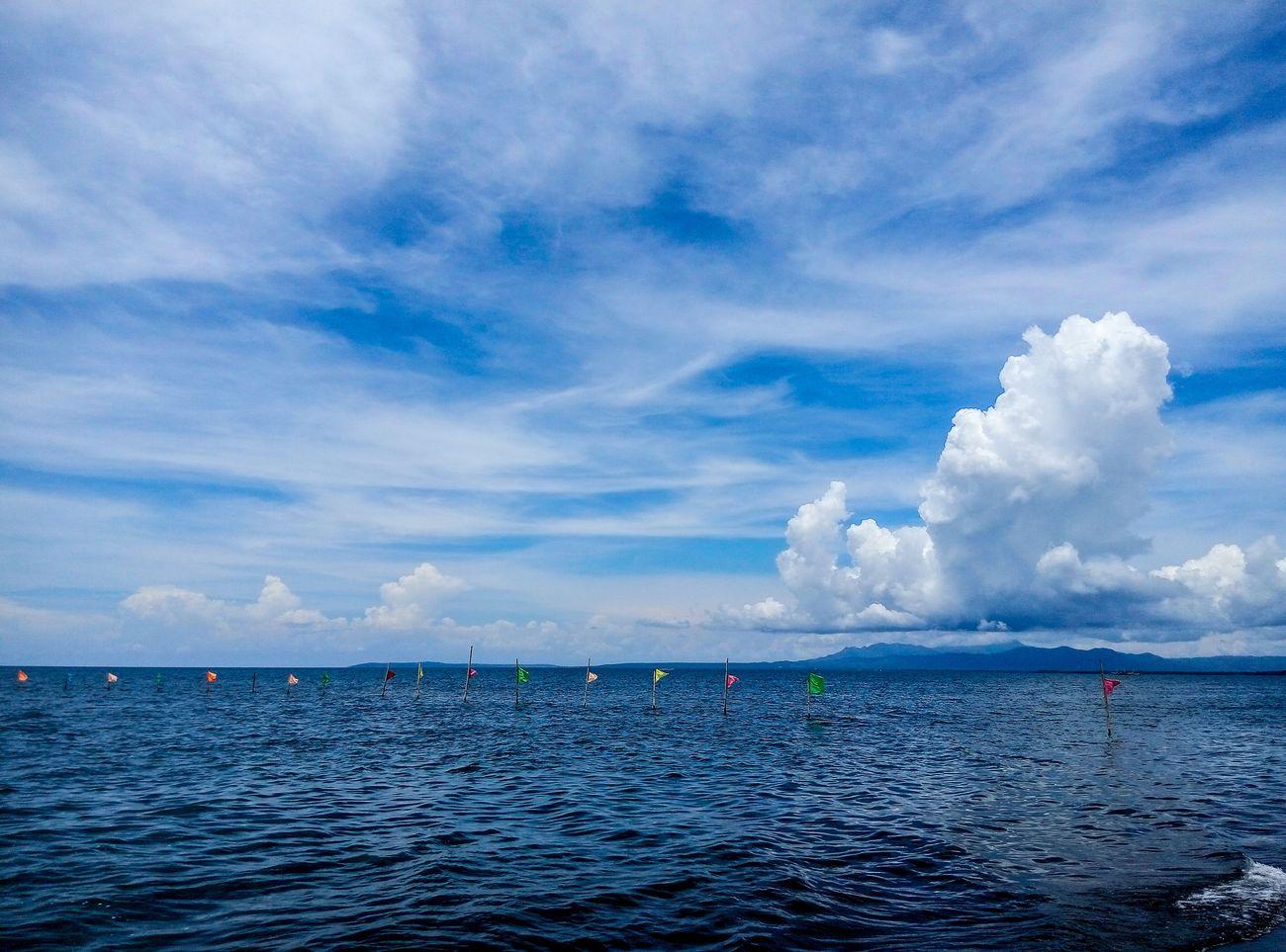 """""""Dalampasigan"""" """"seaside"""" Phonecam Sea Sky Quezon Province Sariayaquezon"""