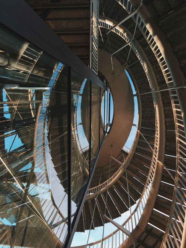 Spiraling... The Architect - 2016 EyeEm Awards Streetphotography City VSCO Cam Taking Photos Vscocam Architecture City Life Enjoying Life Eye4photography  Hello World Reflection Reflection_collection Found On The Roll