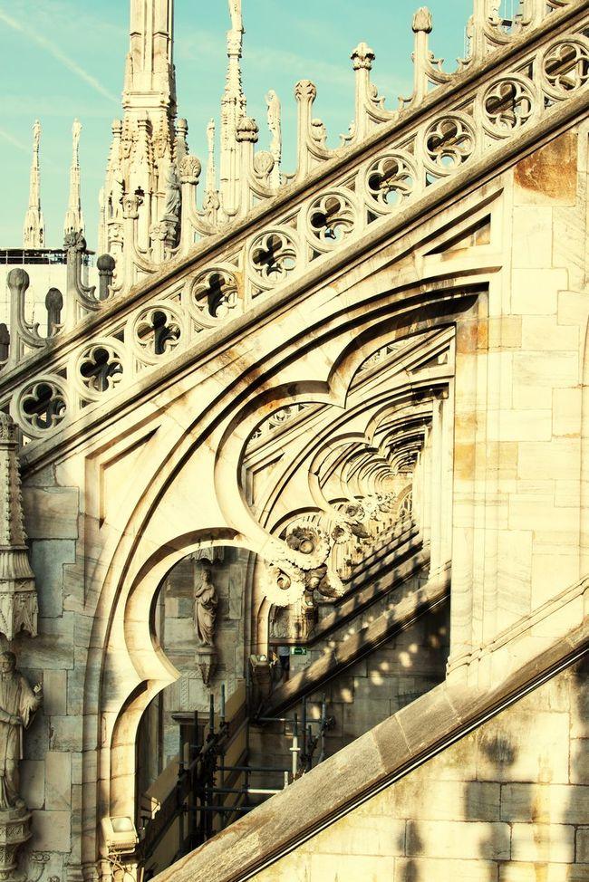 Milan,Italy Duomo Di Milano Pattern Pieces Architecture Church Bogen Eye4photography  EyeEm