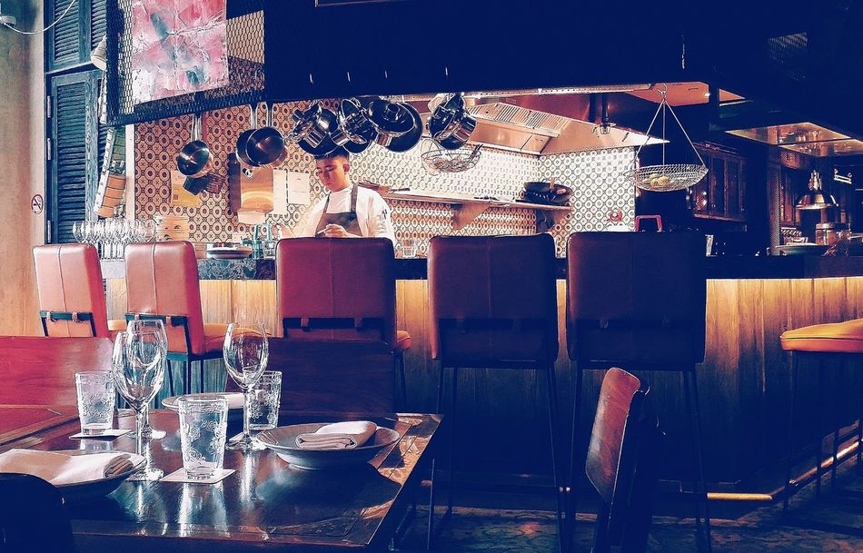 Table Setting Long Chim Interior Design Thai Restaurant Restaurant Streetphotography Singapore