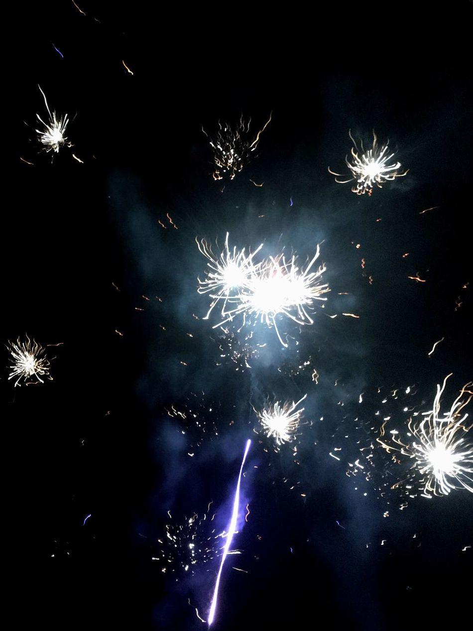 Fireworks 💥 in New Year Fuegos Artificiales en DespedidaDelAño Año Nuevo