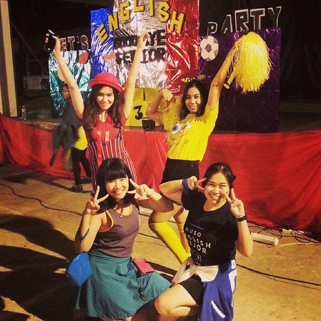 KKU Red Velvet.... Happy in sport day. Goodbyeseniorparty