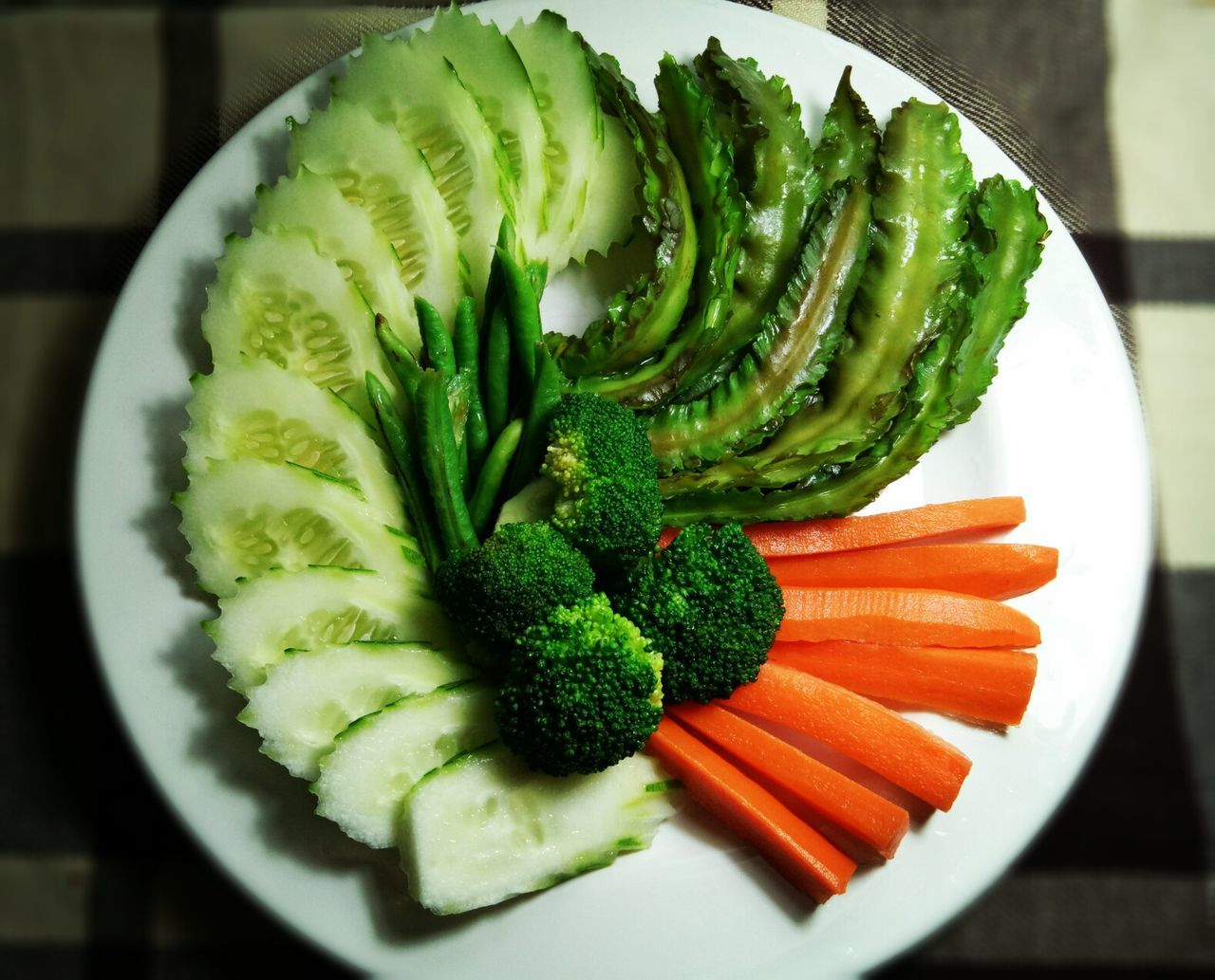 Blanched vegetables Food Healthy Eating I Like Thai Food