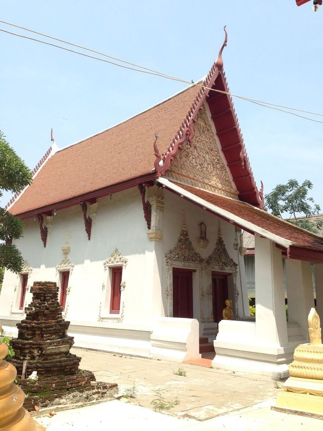 Klong kung temple Thailand