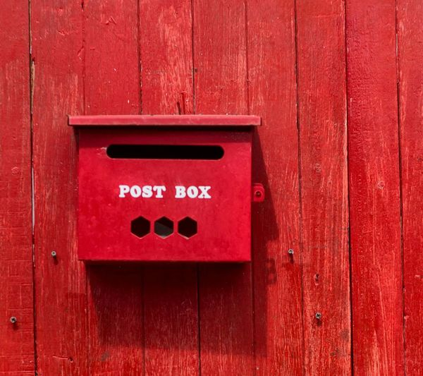 Color Palette Postbox Red Post Box Red Post
