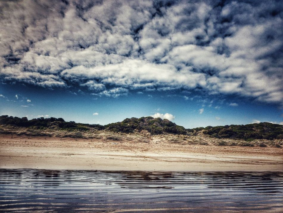 Point Impossible Victoria Australia Eye4photography  Beach Landscape_lovers Landscape Surf Coast Nature_collection Beach Scenery EyeEm Best Shots Landscape_Collection Colours Of Nature Showcase: March Natural Beauty Clouds And Sky Colors Serene Outdoors Quiet Places No People Natural Sand Dunes Sun Down Landscapes With WhiteWall