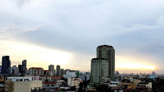 Streak Of Light Sunset_collection Cityscape Sunset Cloud - Sky Philippines ❤️