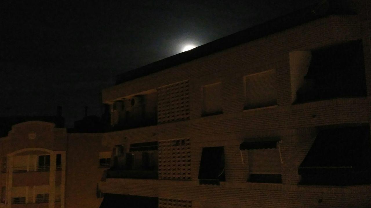 Supermoon SuperLuna Architecture Building Exterior Night Sky City Built Structure No People Moon Dark
