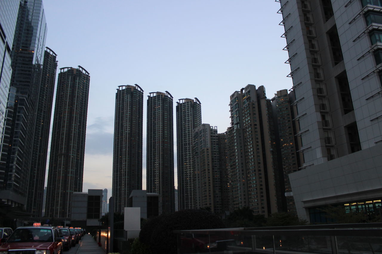 City Skyscraper Urban Skyline Cityscape Outdoors Building Exterior Architecture Apartment No People City Life Financial District  Business Finance And Industry Clear Sky Sky Built Structure Modern Downtown District Day HongKong Travel Photography Urban Road City Street City Life Cityscape Travel Destinations