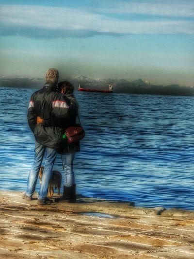 Amore sul Molo Audace Trieste Trieste TriesteSocial Triestestreetlife Tracieloemare