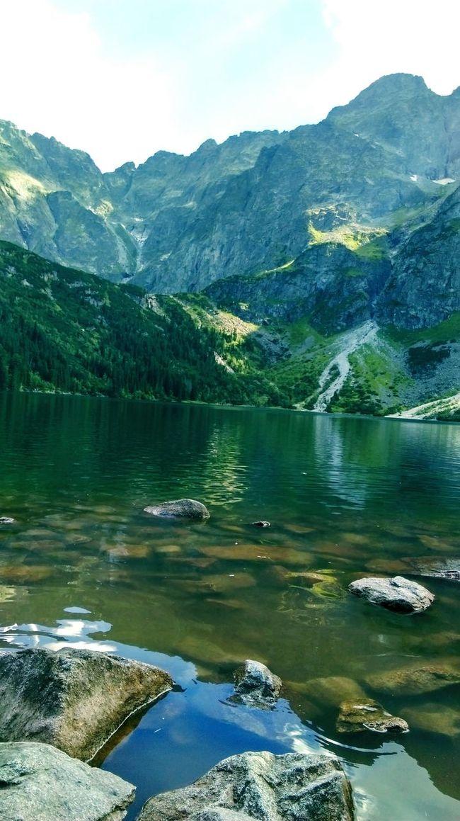 Mountain Water Lake Morskieoko Poland 💗 Polishmountains Nature Beauty In Nature
