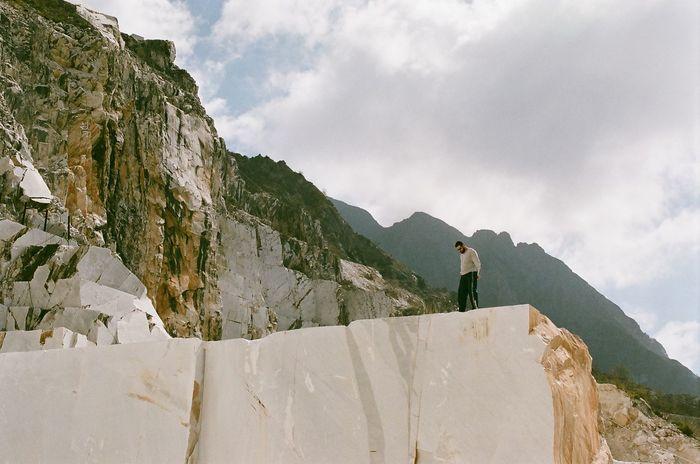 THÉVOZ—CHOQUET© Carrara Marble Quarry Mountain Nature Nikon Outdoors Quarry