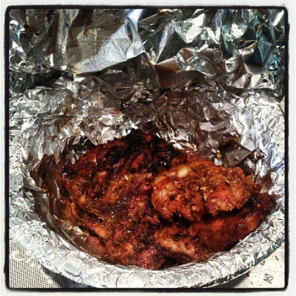 Lunch for today! Chicken Grilled Smokehousemaplerub Foodporn
