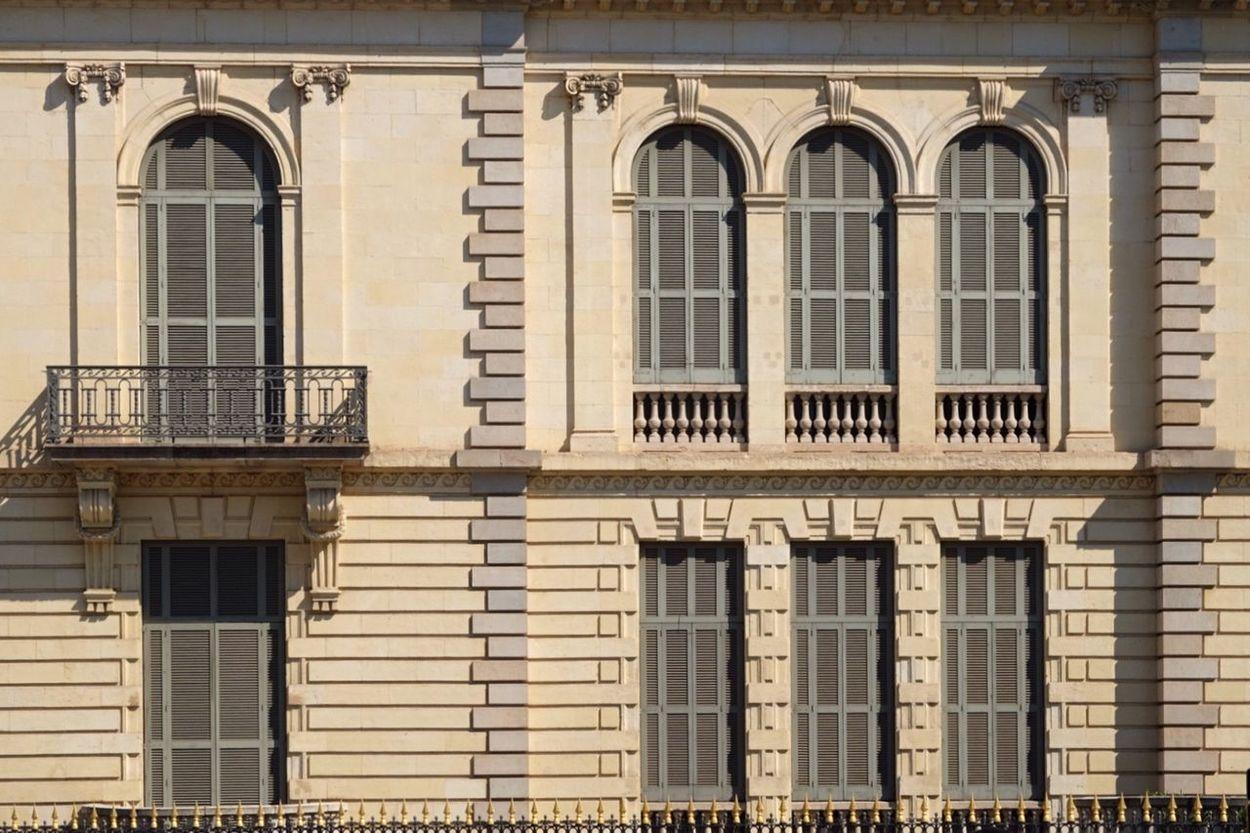 Window Architecture Building Exterior No People City Barcelona Palau Robert