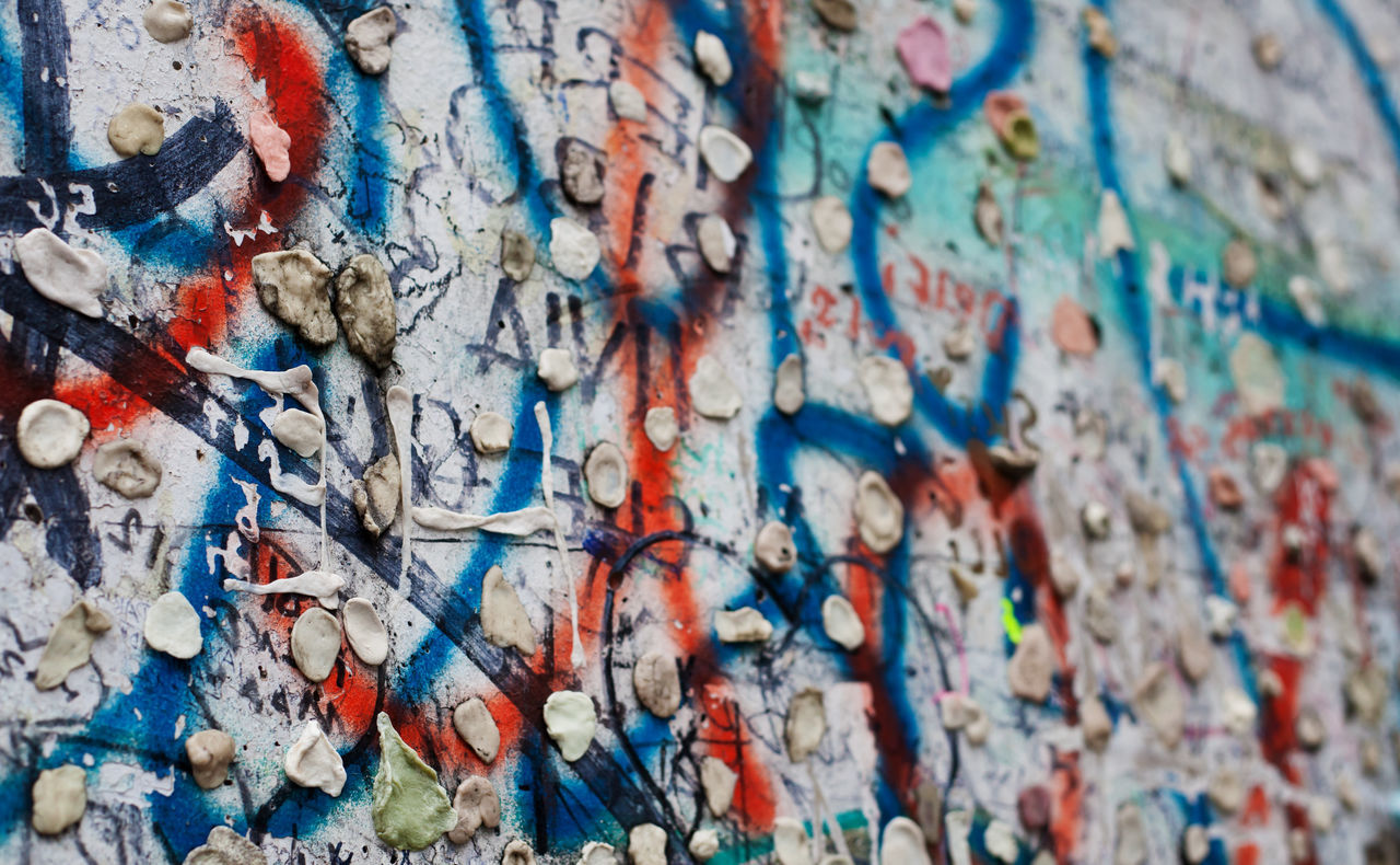 Part of the historic Berlin Wall Backgrounds Berlin Berlin Wall Full Frame Germany GERMANY🇩🇪DEUTSCHERLAND@ Pattern Texture Textures And Surfaces