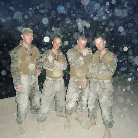 Some of the boys rockin in Afghanistan. Combat Vet Military Oef USMC Operationenduringfreedom Afghanistan