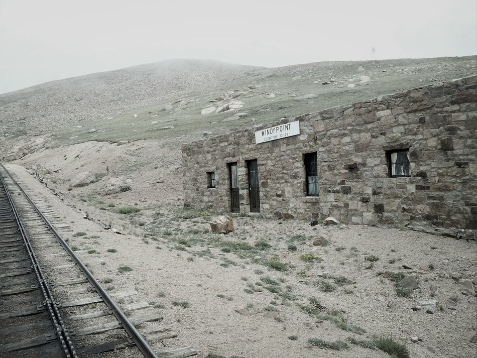 Old abandoned building on the way to the top of Pikes Peak, Colorado Pikes Peak Train Mountain Building Up A Mountain Taking Photos Taking Pictures Train Tracks Traintracks Color Colorado Building Exterior Building And Sky Scenery Shots Scenic Photograghy Scenic Landscapes Scenic Lookout Scenery_collection Scenic Enjoying The View Mountain Range Scenery Scenics Scenic View Trainride