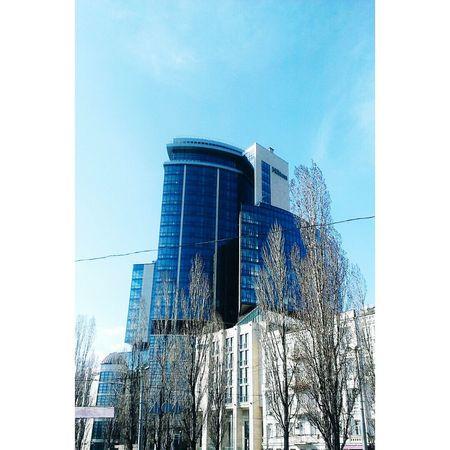 Ukraine Kyiv Streetphotography Architecture Hotel Hilton