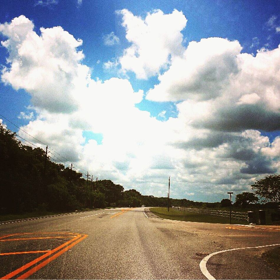 Blue Skies And Open Roads Clods And Sky Travel Blue Skies ⛅