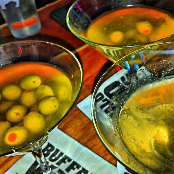Martinis with my boys @geofromtexas & @itsredik Vodka Olives Glasses buffalo wild wings &sports