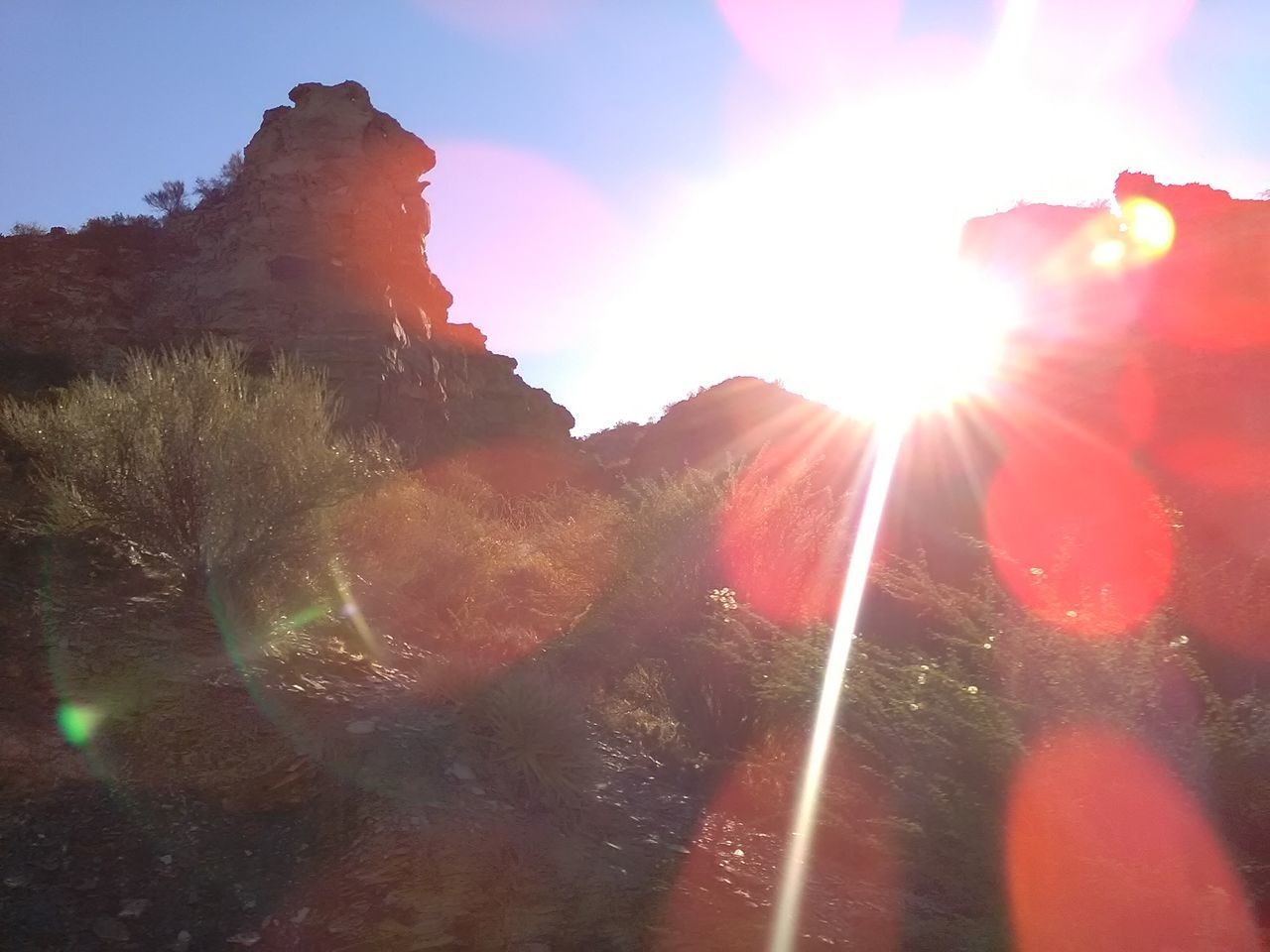 Adult Adults Only Adventure Argentina Back Lit Day Lens Flare Mountains Nature One Person Outdoors People Silhouette Sky Solar Flare Southamerica Startravel2016 Summer Summertime Sun Sunbeam Sunlight Travelphotography