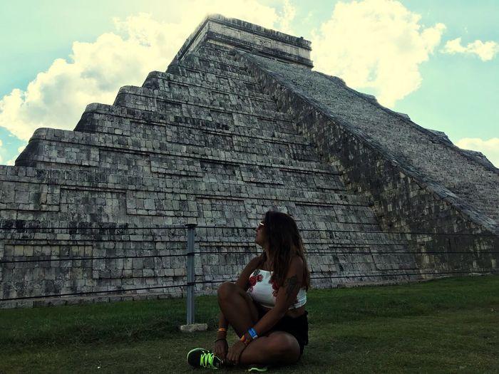 Chichen Itza 🇲🇽✈️ Chichen Itza Mexico Travel Photography Frenchgirl Latina Tattoo Mayan Ruins Yúcatan Monument