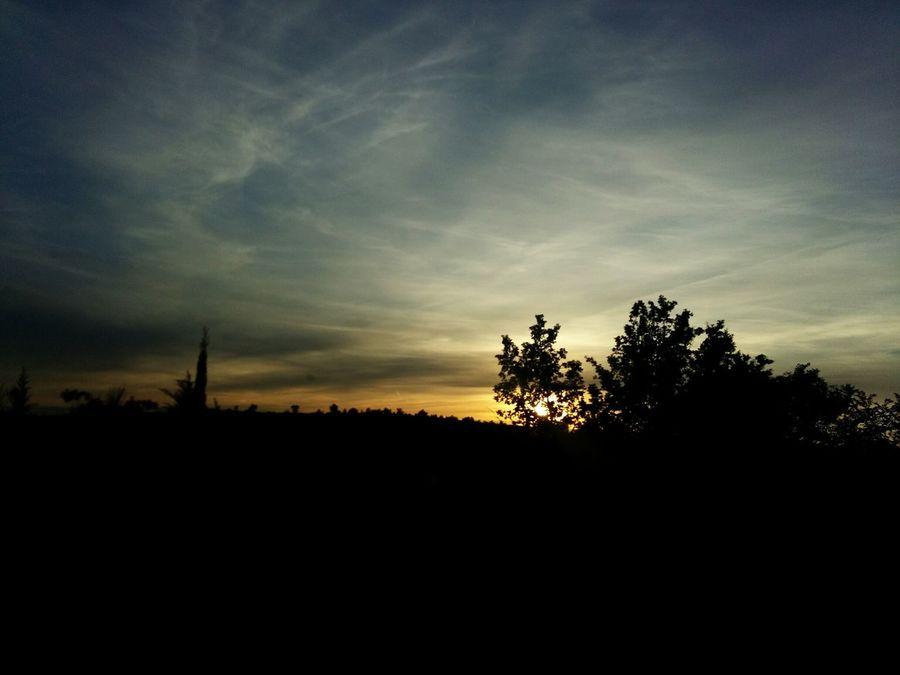 Spring Sunset Dalmatia Skradin Croatia