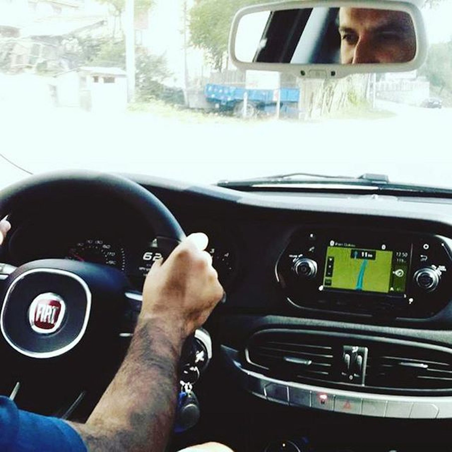 Fiat Egea Test Sürüşünde. Fiategea Fiat Testsürüşü Kokpit